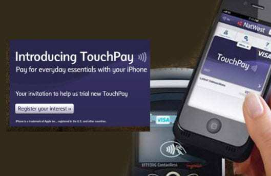 TouchPay iphone mobile payments