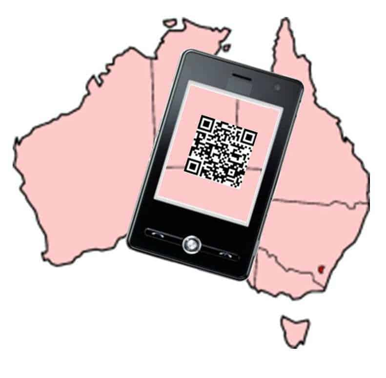 Australia Mobile payments Commerce QR Codes