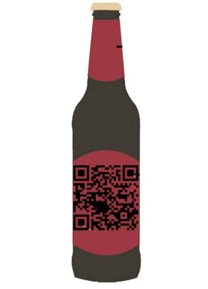 Beer Bottle QR codes