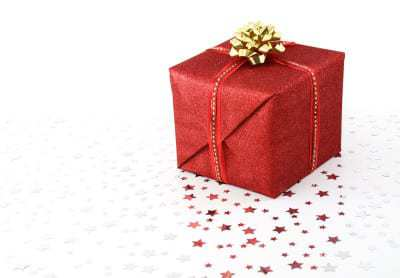 Mobile commerce Christmas Holiday Present
