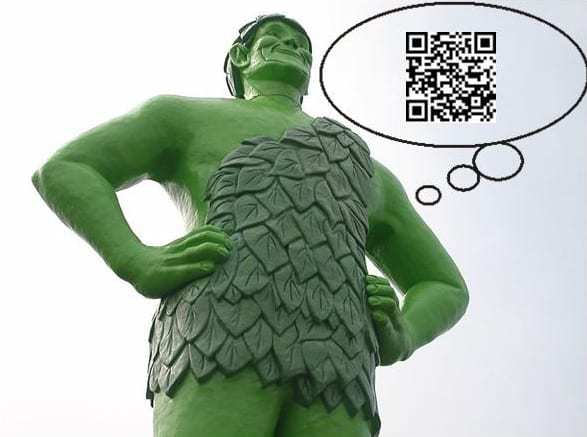 Jolly Green Giant QR Codes