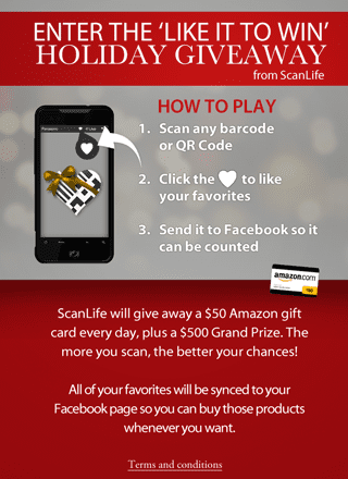 ScanLife Holiday QR Codes Contest