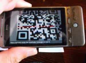 Could QR codes be replaced by an LED light bulb?