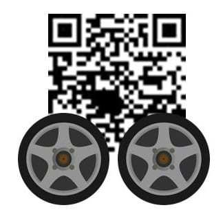 QR codes automotive car
