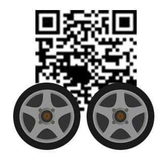 QR codes automotive car