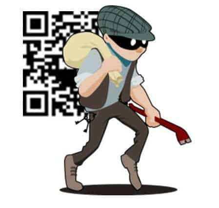 QR codes cyber crime