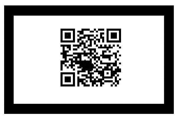 QR codes frame