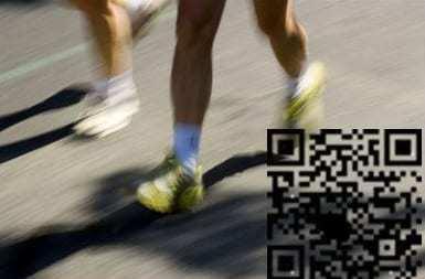QR codes marathon