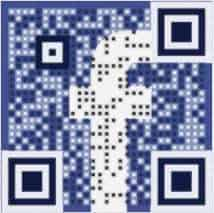Scan QR Codes for our Facebook page