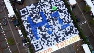 QR codes record broken in Taiwan