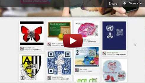 qr codes video