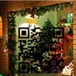 storefront display window QR codes