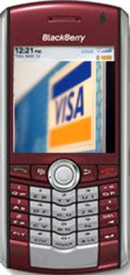 blackberry mobile payments visa