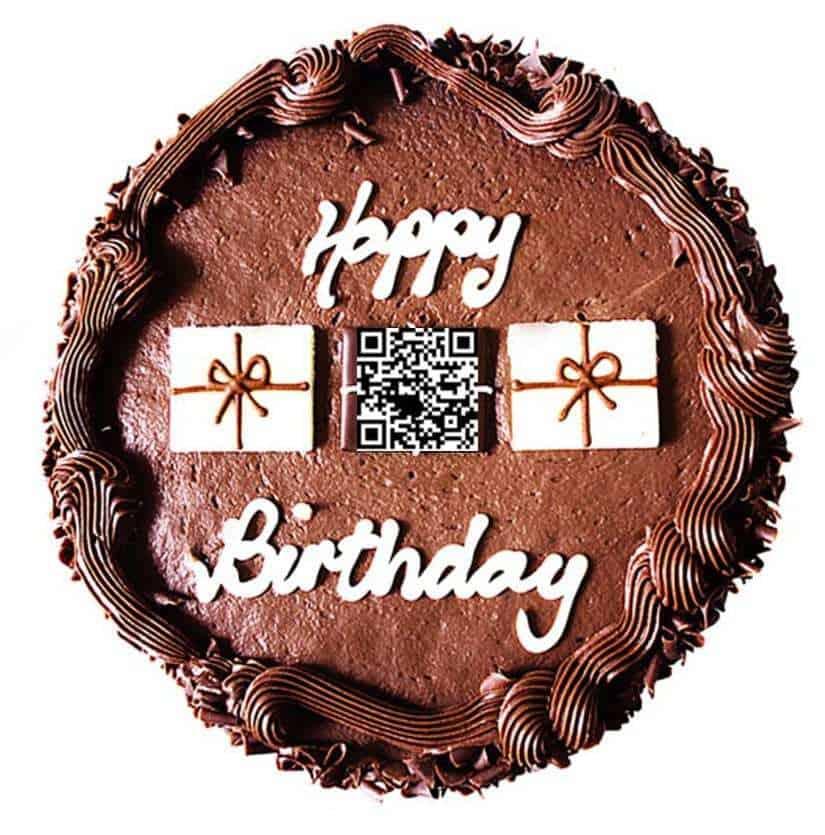 qr code cakes