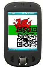 QR codes applied to Welsh historical plaques for updated information