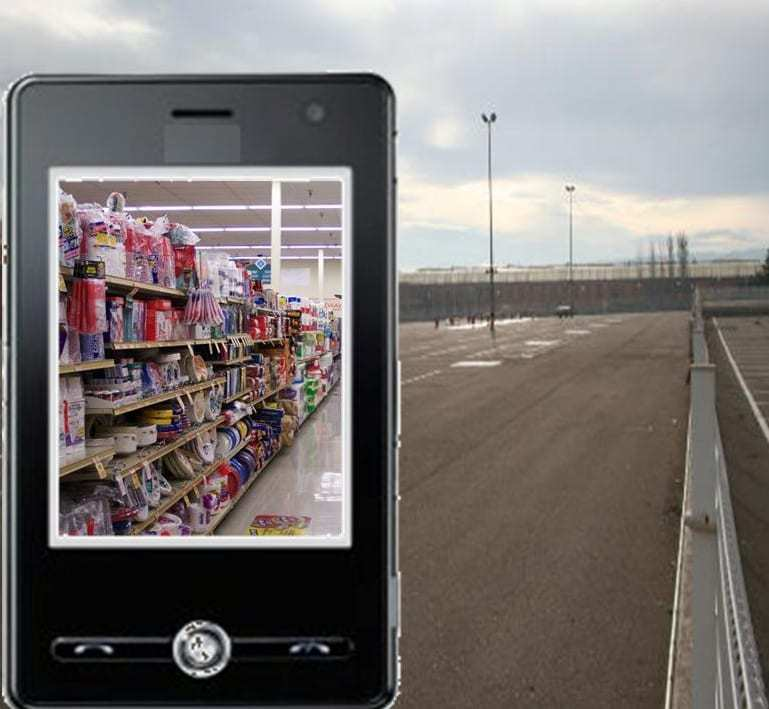 augmented reality grocery store supermarket