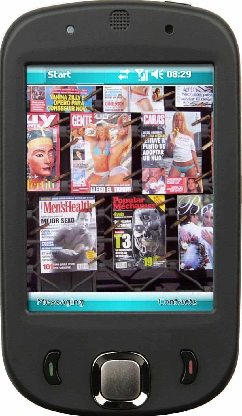 Augmented reality come to Playboy magazine images