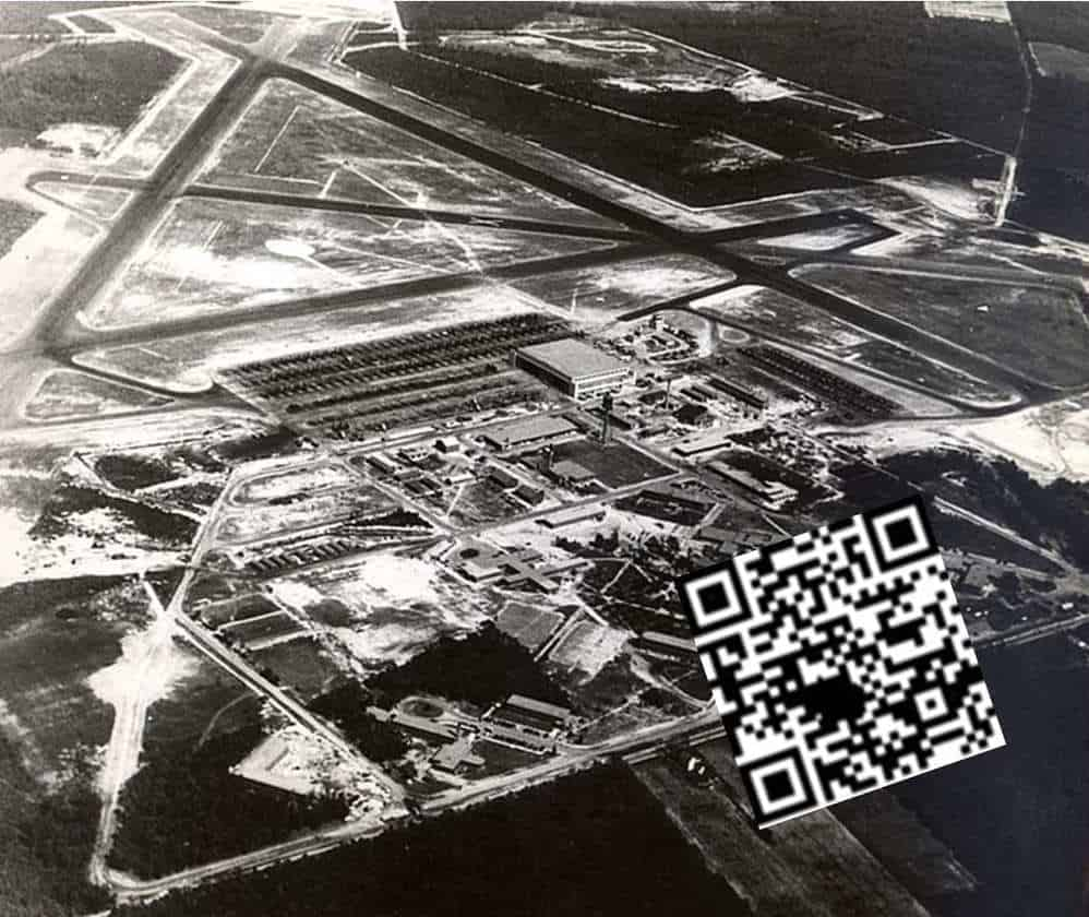 qr codes aviation museum