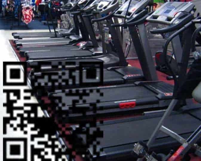 QR codes gym sports