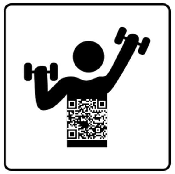 fitness gym QR codes