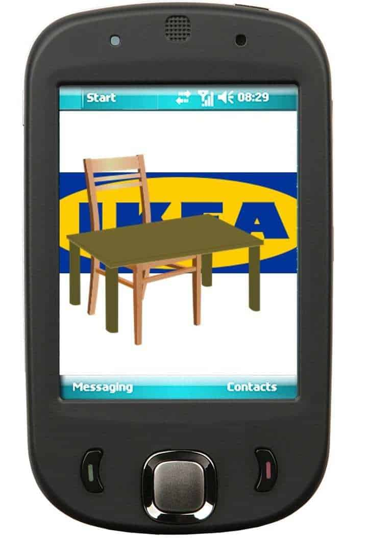 ikea augmented reality m-commerce app