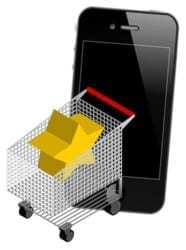 Mobile commerce activity doubled last year among the Top 500 retailers