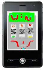QR codes at ReapSo designed to increase appeal of scanning