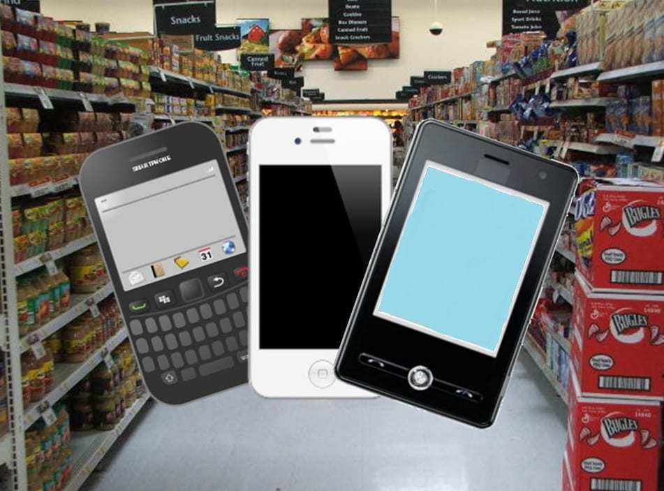 mobile payments grocery store