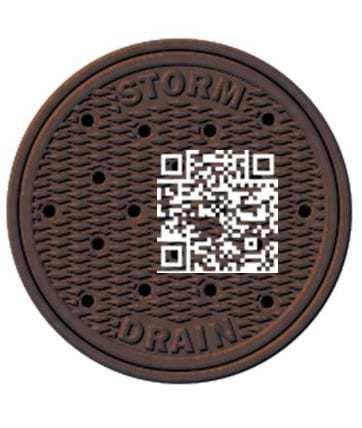 qr codes manholes