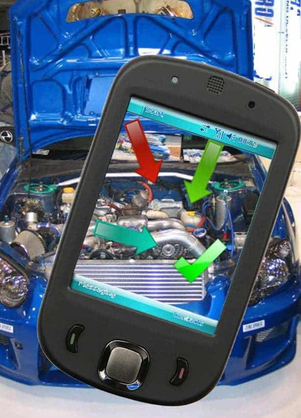 augmented reality car mechanic