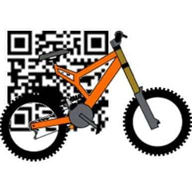 Mobike qr codes bicycle