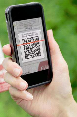 QR codes scanning success