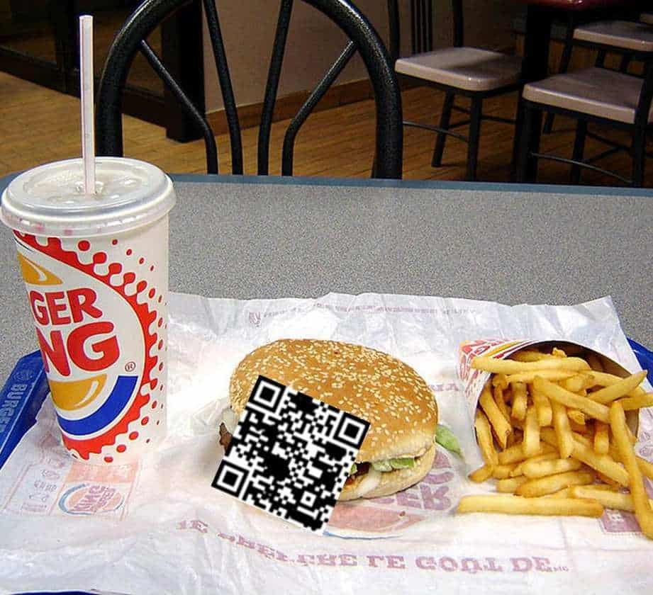 burger king qr codes middle east
