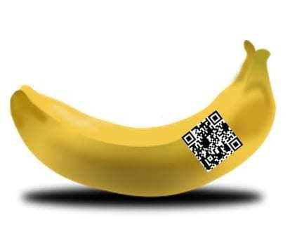 qr code banana ambassador fruit