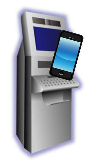 ATM mobile payments qr code integration