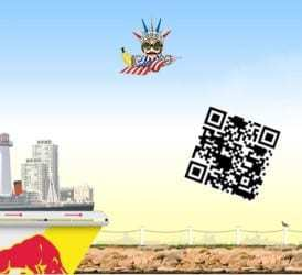 QR codes used in massive promotion between Qfuse and Red Bull