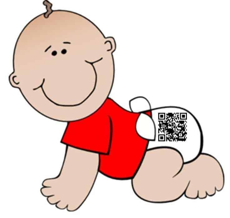 diaper qr codes
