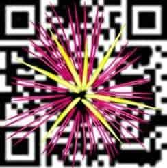qr codes fireworks
