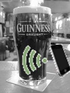 Guinness NFC technology mobile marketing