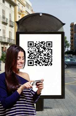 QR Code Virtual storage