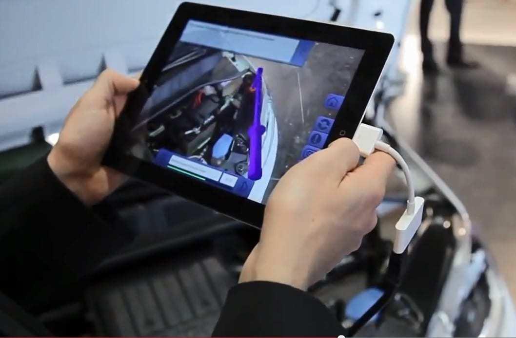 Volkswagen VW augmented reality