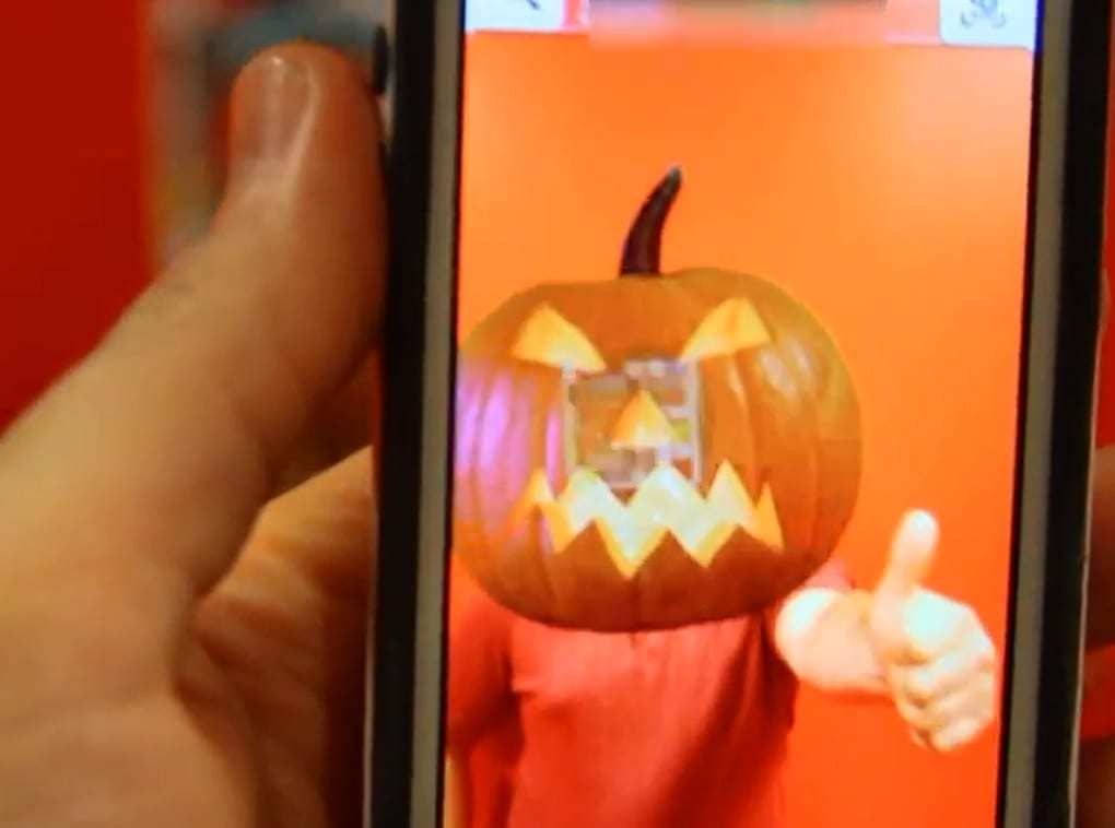 augmented reality halloween tech