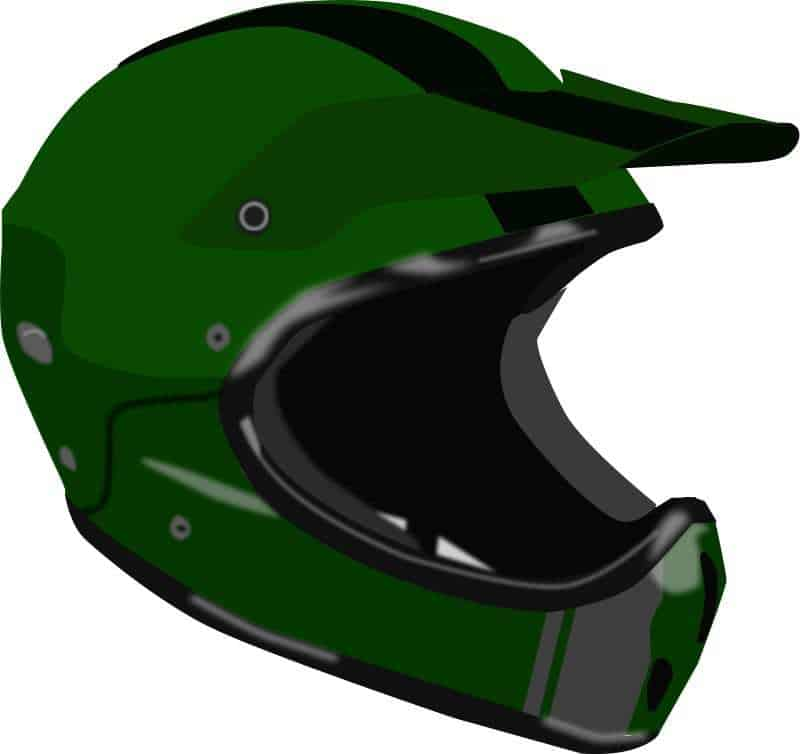 augmented reality motorcycle helmet graphic