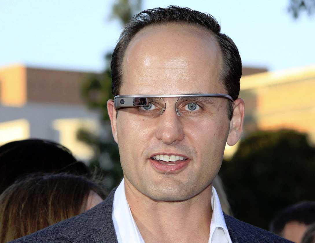 Google Glass augmented reality glasses