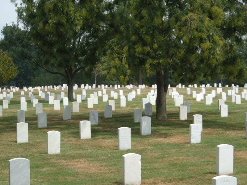 arlington national cemetery qr codes