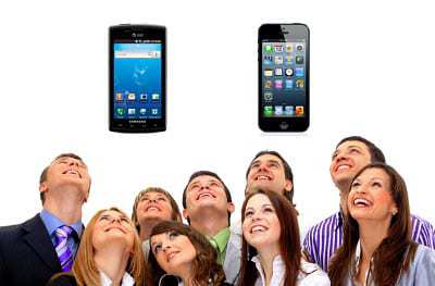 iphone or android mobile devices technology news