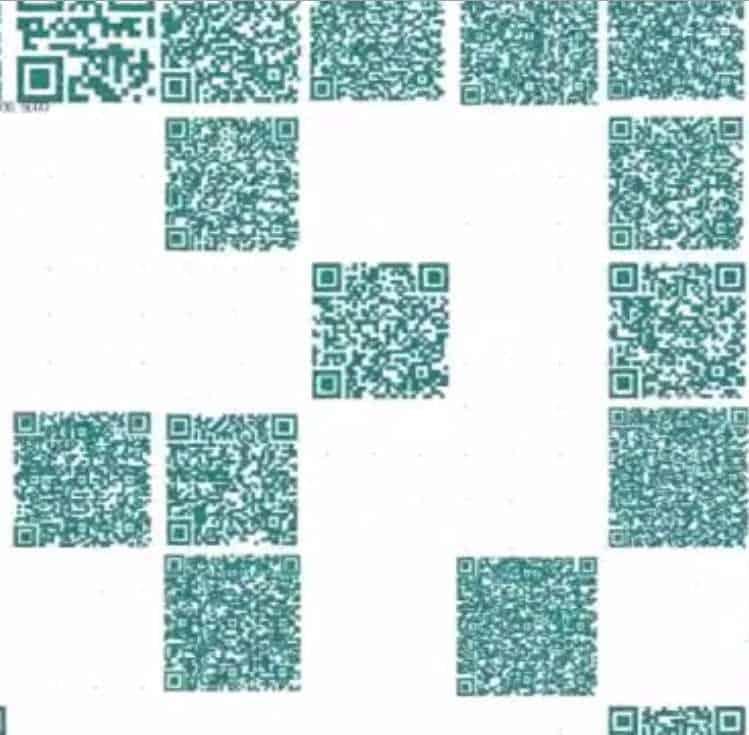 tungsten qr codes