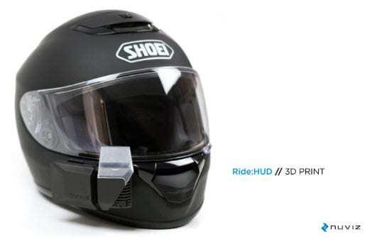 Nuviz Augmented Reality Helmet