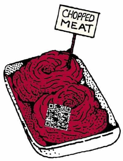 meat qr codes food