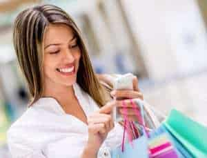 Mobile shopping is a favorite activity of 14 percent of commuters